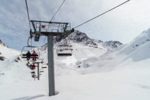 Compare ski transfers to Les Arcs