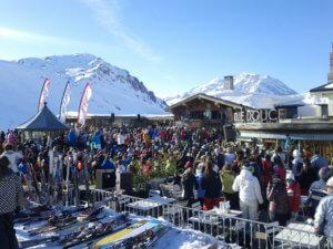La Folie Douce, Val d'Isere
