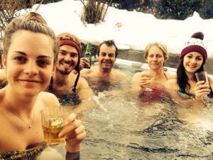 Chalets with Hot Tubs in Meribel