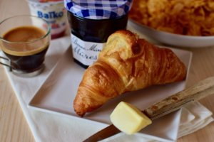 Chalet Kitchen breakfast croissant
