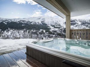 Chalets with Hot Tub in Meribel