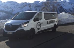 Alpine Sherpa Ski Transfer Van