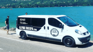 Alpine Sherpa Summer Transfer Van