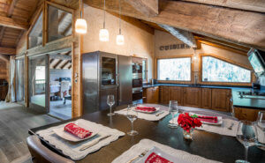 Chalet Pearl Kitchen Area