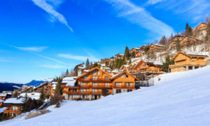 Chalets in Meribel Ski Resort