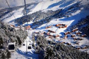 Ski Lifts in Meribel