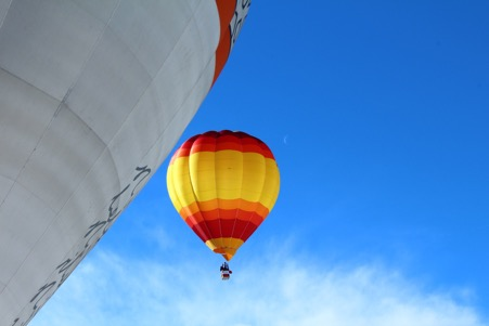 Hot Air Balloon in French Alps