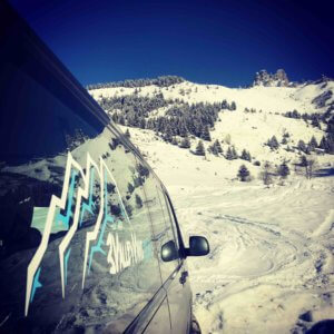 3 Valley Vans shared ski transfers