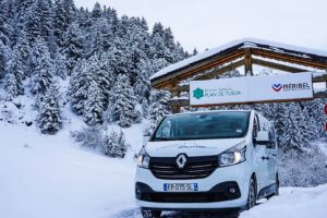 3 Valley Vans private ski transfers