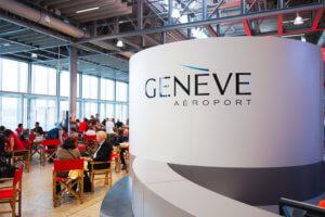 Geneva Airport Interior