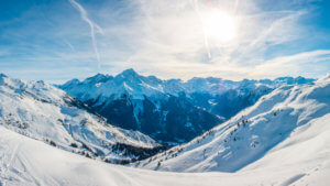 Skiing in Champagny en Vanoise