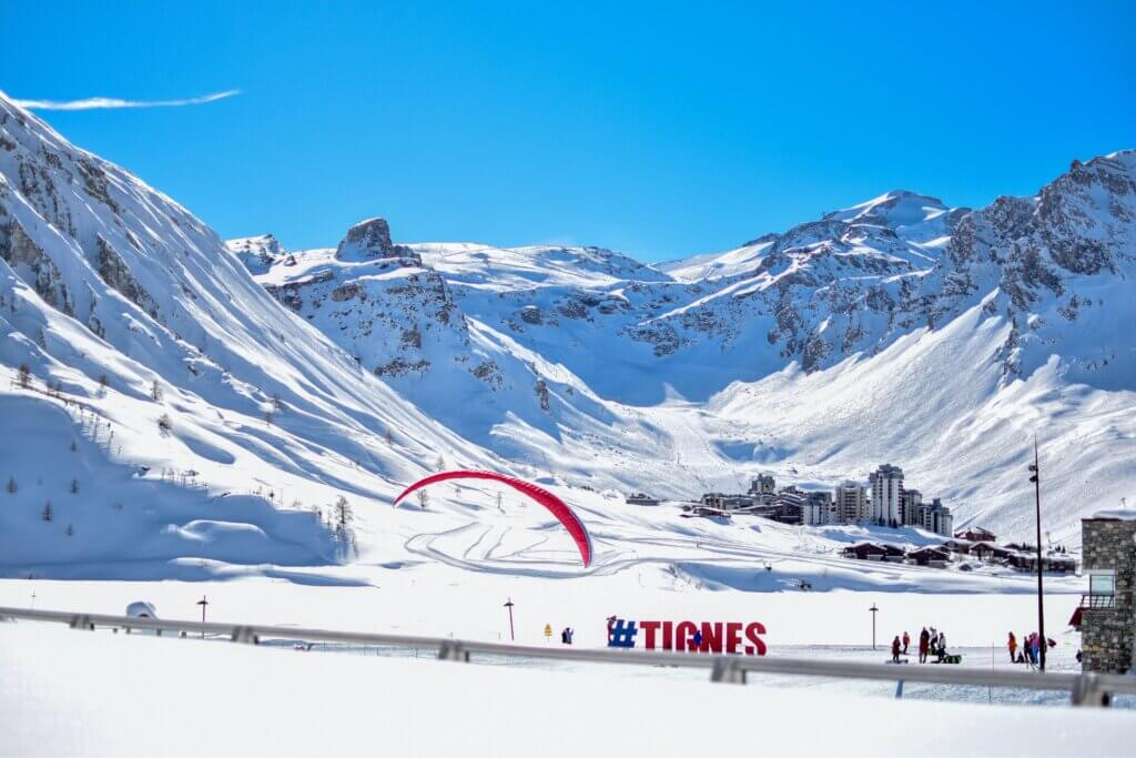 Grenoble airport to Tignes ski resort