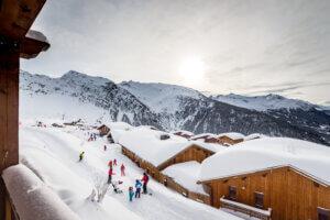 Tignes ski slopes