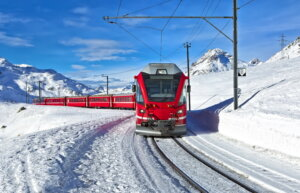 Train to Tignes
