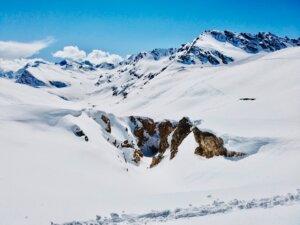 Les Arcs ski slopes
