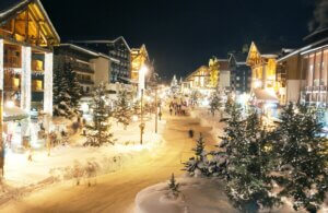 Val d'Isere at Christmas