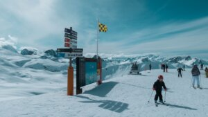 Val d'Isere ski slopes
